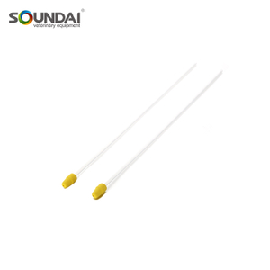 Disposable Sponge Artificial Insemination Foam Catheter With Plug For Pig Insemination