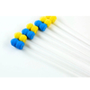 Green Yellow Blue Disposable Artificial Insemination Semen Catheter For Animal With PVC Tail Plug